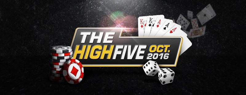 Americas Cardroom Returns With High Five October