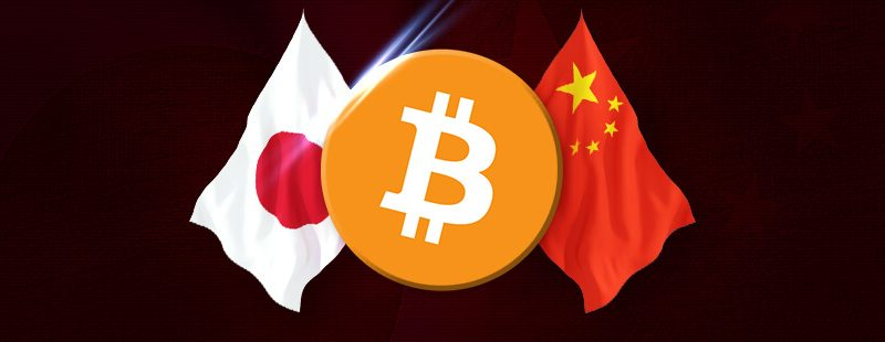 Japan & China Push Bitcoin Closer To Mainstream