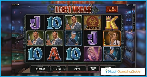 Microgaming's Lost Vegas slot