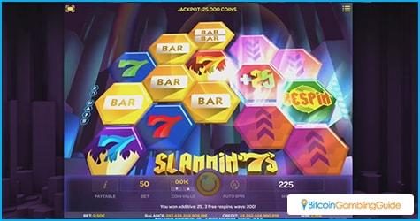 iSoftBet's Slammin'7s slot