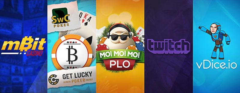 Roundup: mBit Casino, MO MO MO PLO & vDice.io