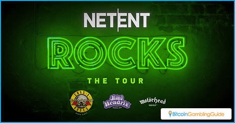 NetEnt Rocks The Tour Slots