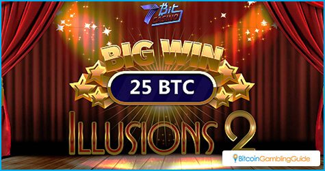7BitCasino 25 BTC Big Win