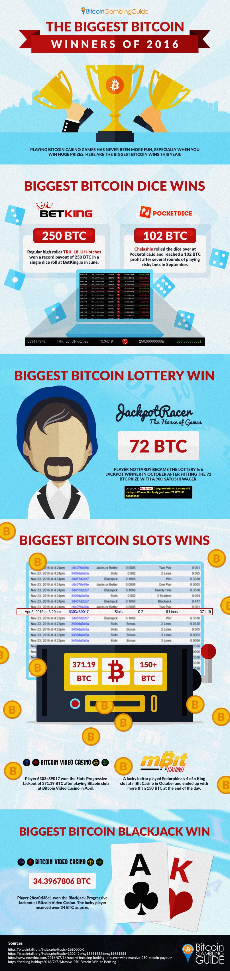 Biggest Bitcoin Winners of 2016
