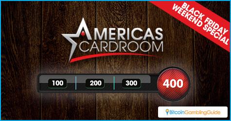 Americas Cardroom Thanksgiving Bonus