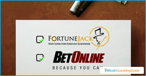 FortuneJack and BetOnline.ag