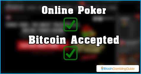 Online Poker Sites Accept Bitcoin