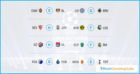 Champions League Matchday 5