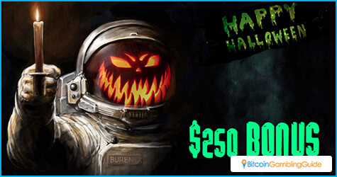 Mars Casino Halloween Promo