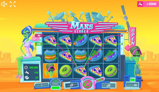 Mars Dinner Slot
