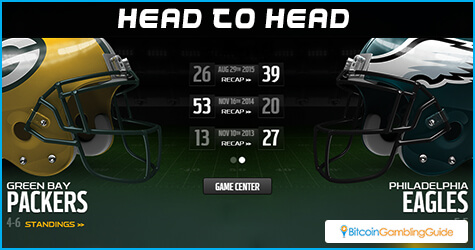 Green Bay Packers vs Philadelphia Eagles