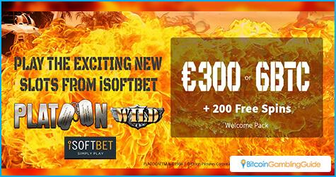 Oshi.io Bonus for iSoftBet slots
