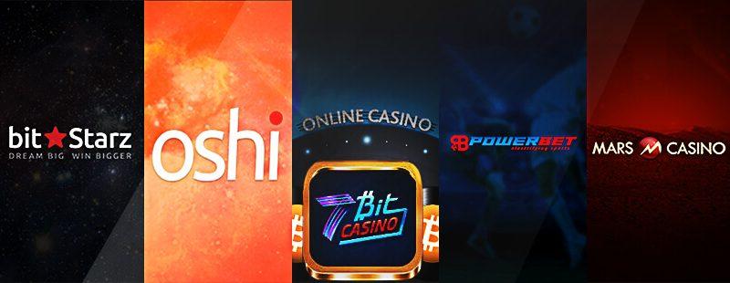 Roundup: BitStarz, Oshi.io & Powerbet.io