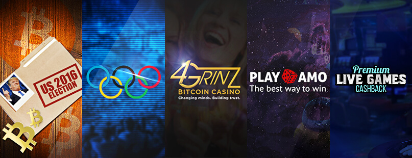 Roundup: 4Grinz, Playamo Casino & Evolution Gaming