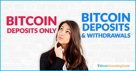 Bitcoin Deposits and Withdrawals