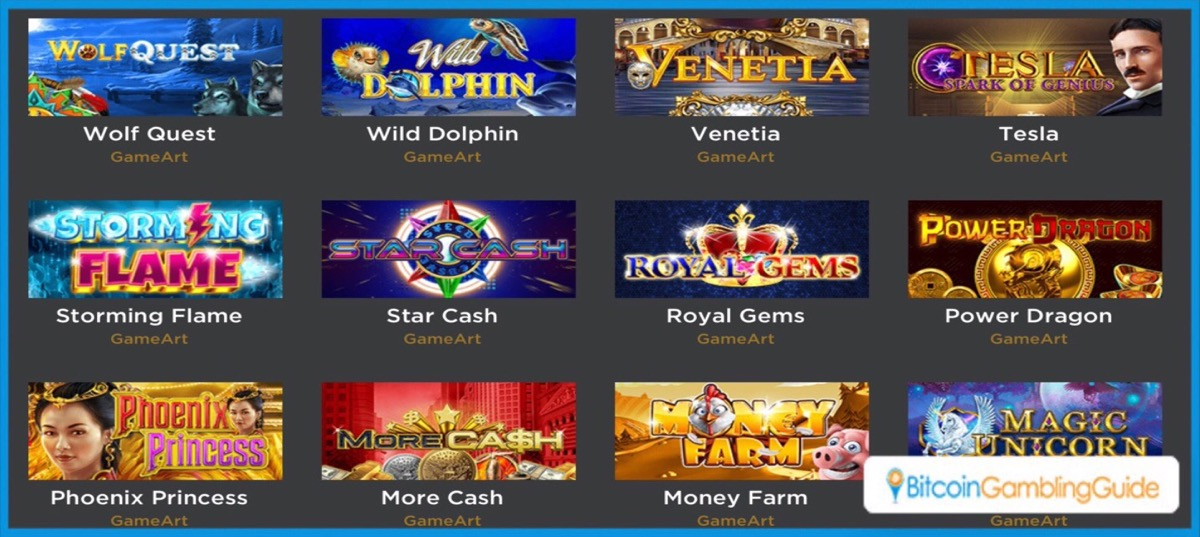 4Grinz Bitcoin Casino Games