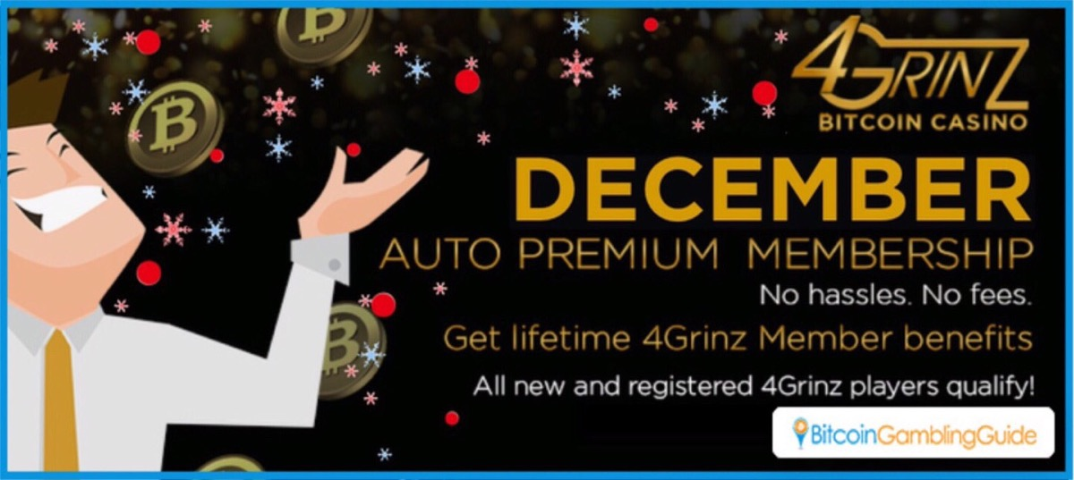 4Grinz Bitcoin Casino Promotions