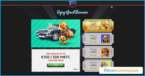 7BitCasino Bonus Offers