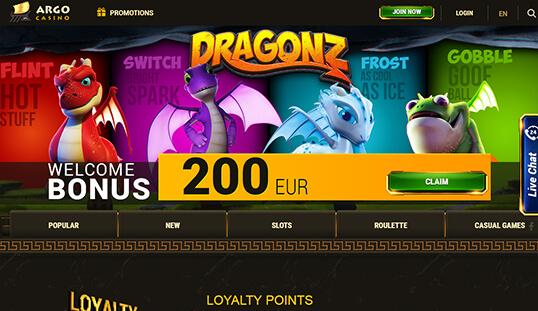 онлайн казино арго официальный сайт