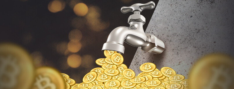 Bitcoin Faucets Turn On Tap for Online Gambling