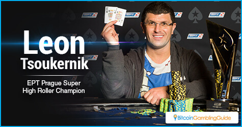 Leon Tsoukernik Wins €50,000 EPT Prague Super High Roller Event