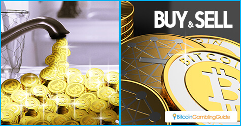 Bitcoin Faucet and Buying and Selling