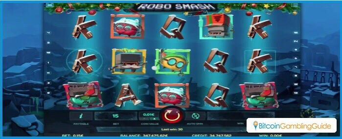 Robo Smash Xmas Slot