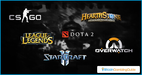 Top Bitcoin eSports Games