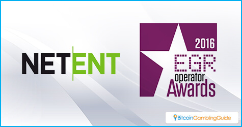 NetEnt at EGR 2016 Operator Awards