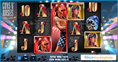 Guns N Roses Bitcoin Slot