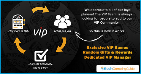 Oshi.io VIP System