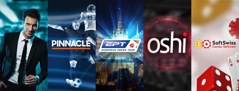 Roundup: Pinnacle, Oshi.io, EPT Prague & SoftSwiss