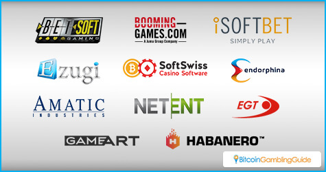 Game Providers on SoftSwiss