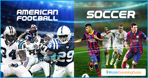 American Football and Soccer