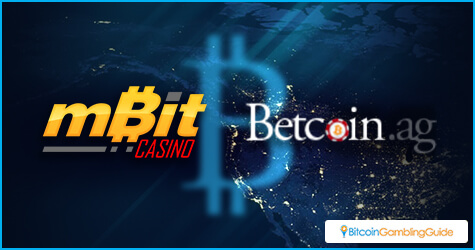 mBit Casino and Betcoin.ag
