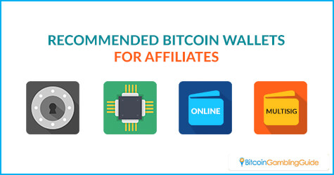 Recommended Bitcoin Wallets for Affiliates