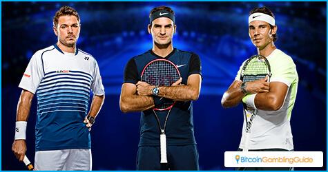Stan Wawrinka, Roger Federer, Rafael Nadal