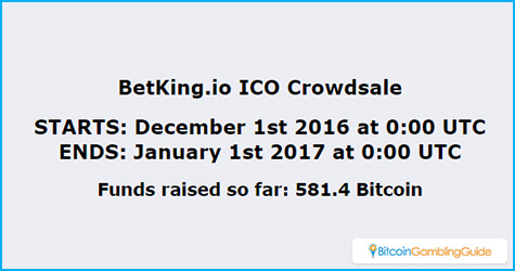 BetKing.io ICO Crowdsale