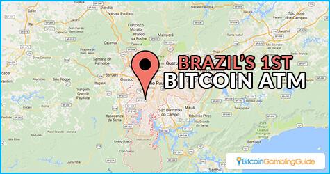 Brazil's First Bitcoin ATM in São Paulo