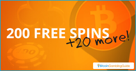 220 Free Spins for New BitcoinGG Players