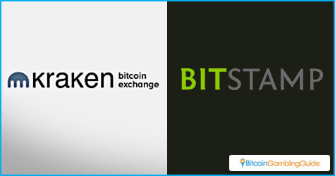 Bitstamp and Kraken