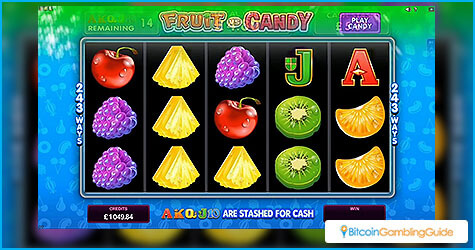 Fruits vs Candy Slot