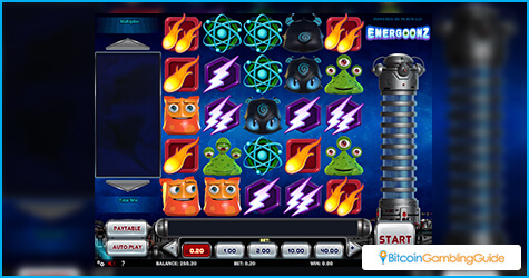 Play'n Go Energoonz slot game