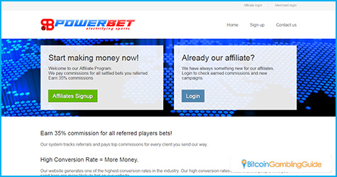 PowerBet affiliate program