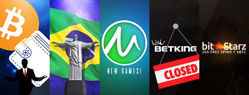 Roundup: Bitcoin in Brazil, BetKing.io & BitStarz