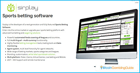 Sirplay Sports Betting Software
