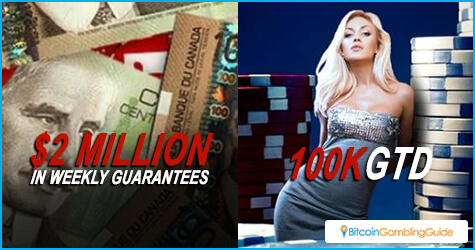 Bodog Poker offers poker tournaments with huge prize pools