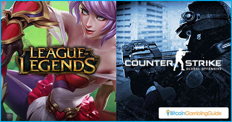 League of Legends and Counter Strike: Global Offensive
