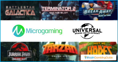 Licensing agreement between Microgaming and Universal Brand Development