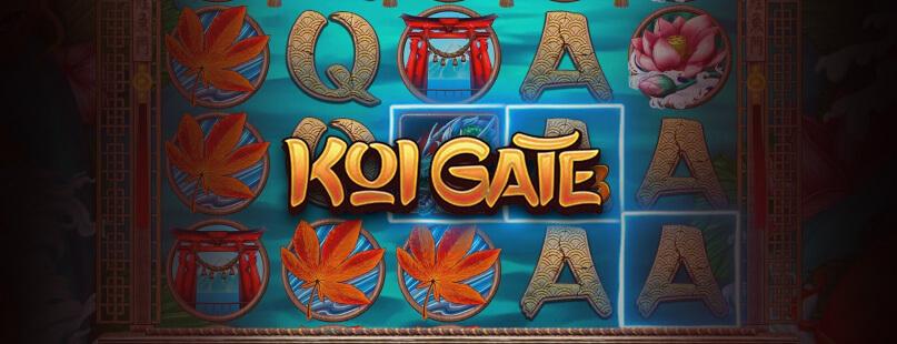 Habanero's Koi Gate Boasts Graphics & Gameplay